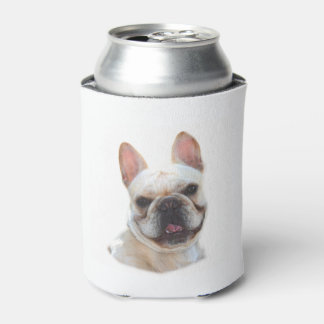 Happy French Bulldog Can Cooler