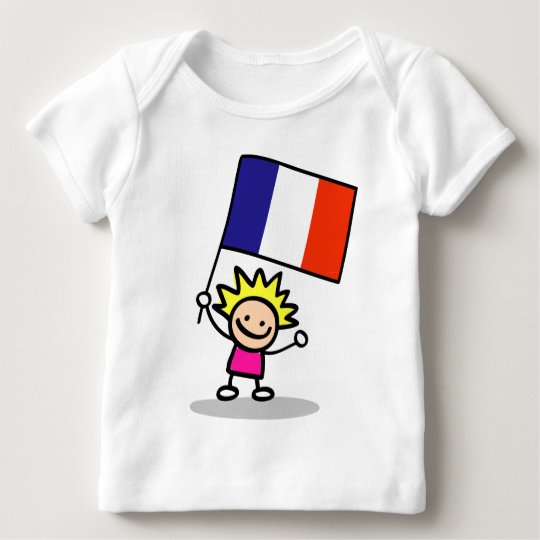 happy french children independence day baby T-Shirt