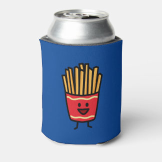 Happy French Fries Can Cooler