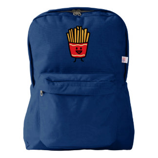 Happy French Fries Backpack