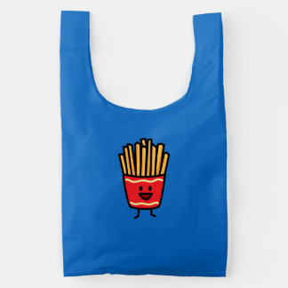 Happy French Fries Reusable Bag