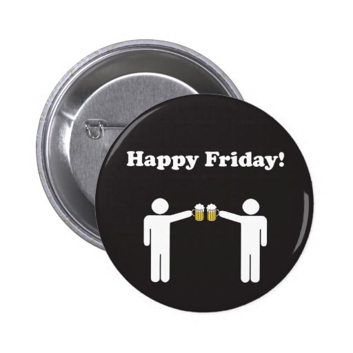 Happy Friday Button