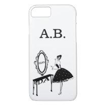 Happy Friday Fashion Illustraton iPhone 8/7 Case