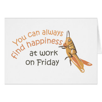 Happy Friday Greeting Card