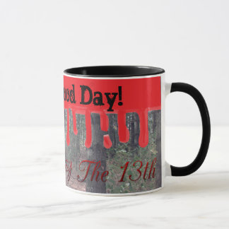 Happy Friday the 13th Blood Camp Woods Coffee Cup