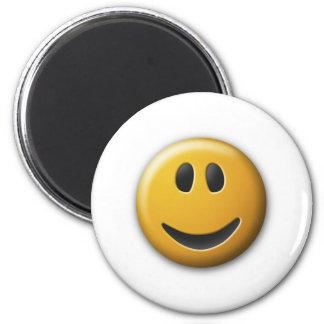 happy fridge magnet