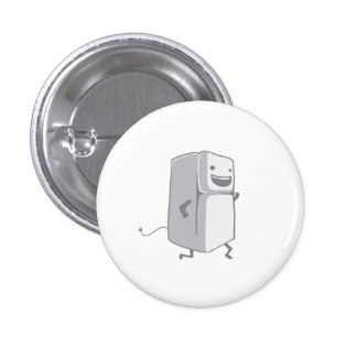 Happy Fridge Pinback Button