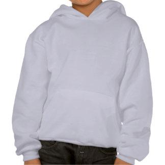 Happy Friendly Snowman Hooded Sweatshirt