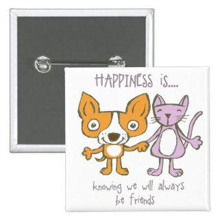 Happy Friends Button