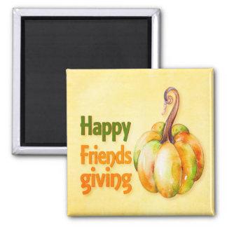Happy Friendsgiving Refrigerator Home Decoration Magnet