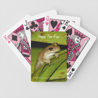 Happy frog Bicycle® Playing Cards