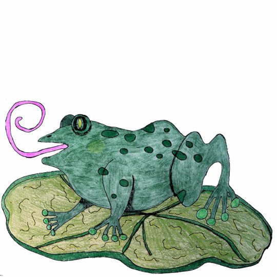 Happy Frog Cutout