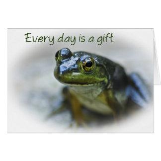 Happy Frog Encouragement Cards