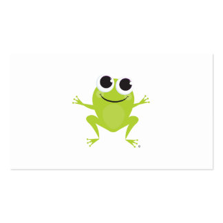 Happy Frog Gift Card Business Cards