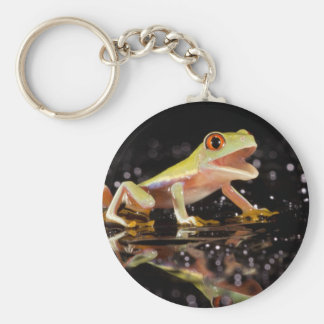 Happy frog keyring