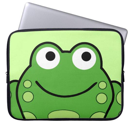 Happy Frog Laptop Sleeve