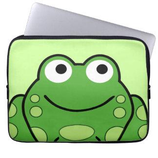 Happy Frog Laptop Sleeves