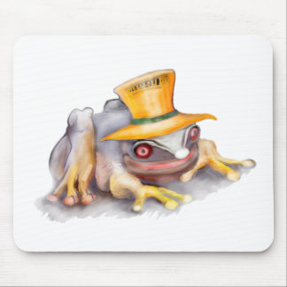 happy_frog mouse pad