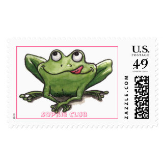 Happy Frog! Postage