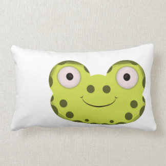 happy frog style pillow