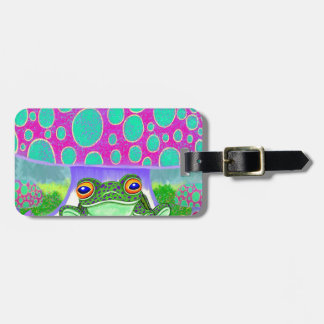 Happy Frog Tag For Bags