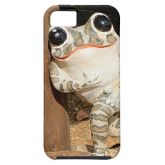 Happy frog with big eyes iPhone SE/5/5s case