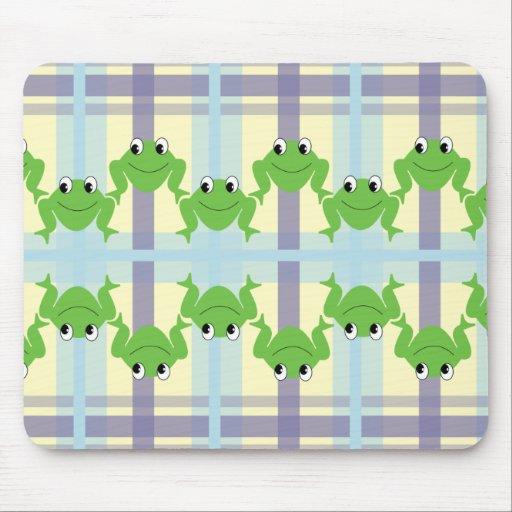 Happy Froggie Mousepad