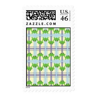Happy Froggies Vertical Stamps