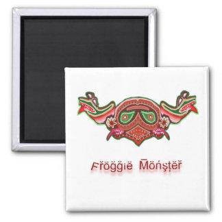Happy Froggy Head -  NOVINO MonstersInk Magnet