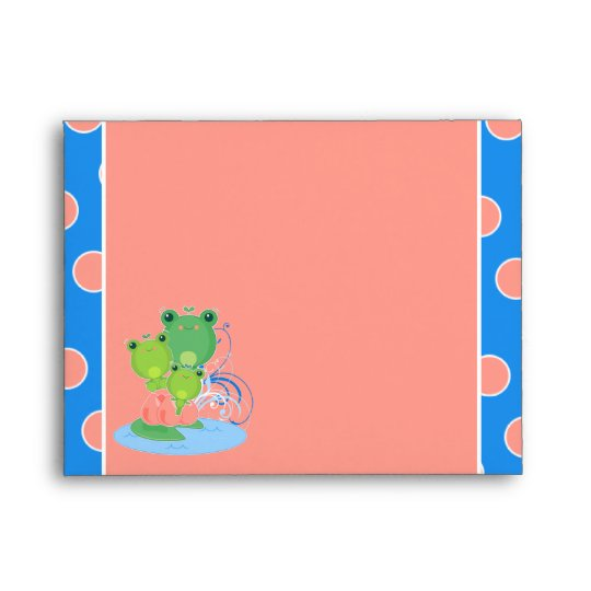 Happy Frogs Envelope