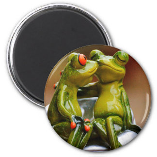 Happy Frogs Magnet