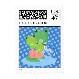 Happy Frogs Postage