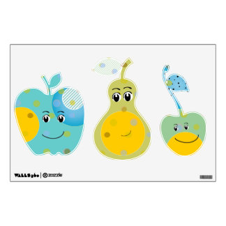 Happy Fruit Any Color Baby Boy Girl Wall Skin