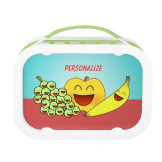 """Happy Fruit"" Lunch Box"