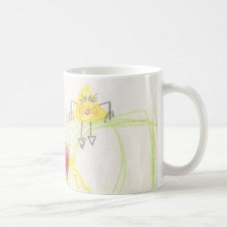 happy fruit classic white coffee mug