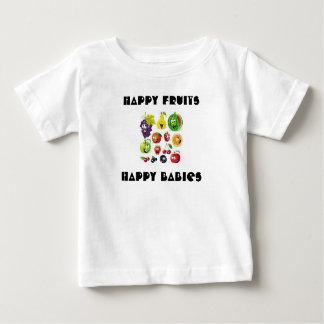 Happy Fruits , Happy Babies Baby T-shirt