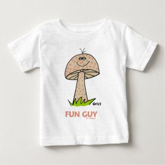 Happy Fun Baby Boy Cartoon Cute Sweet Funny Baby T-Shirt