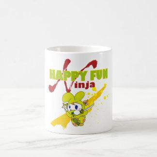 HAPPY FUN Ninja Coffee Mug
