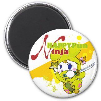 HAPPY FUN Ninja Fridge Magnet