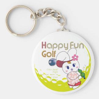 HAPPY FUN Usagi G Keychain