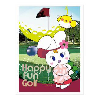 HAPPY FUN Usagi G Post Card