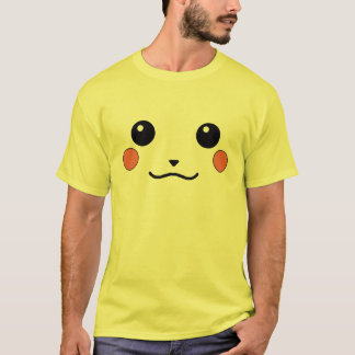 Happy Furry Anime Friend Face T-Shirt