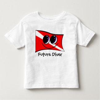 Happy Future Diver Tee Shirt