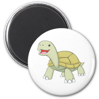Happy Galapagos Tortoise Magnet