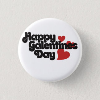 Happy Galentines Day Button