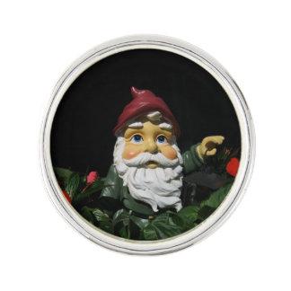 Happy Garden Gnome Lapel Pin