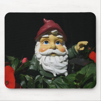 Happy Garden Gnome Mouse Pad