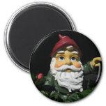 Happy Garden Gnome Refrigerator Magnet