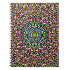 Happy Garden Mandala Notebook