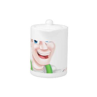 Happy Gardener Teapot